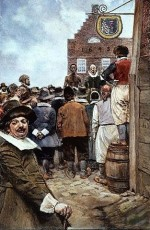 313px-First_Slave_Auction_1655_Howard_Pyle